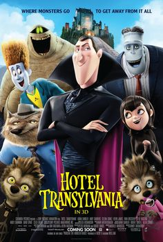 Dracula goes into overprotective mode when a boy discovers falls for the count's teen-aged daughter #HotelTransylvania