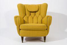 1930s Danish Lounge Chair