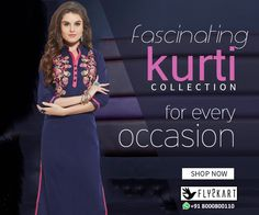 Cotton Embroidered work navyblue Kurti http://www.fly2kart.com/cotton-embroidered-work-navyblue-kurti.html?utm_content=buffer400e1&utm_medium=social&utm_source=pinterest.com&utm_campaign=buffer BIG OFFER SALE UP TO 50% OFF!!! +91-8000800110 CALL OR WHATSAPP