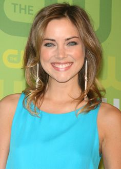 Inspiration for when I start to grow my hair long. Featuring Jessica Stroup
