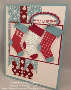 Christmas Stockings by LaLatty - Cards and Paper Crafts at Splitcoaststampers