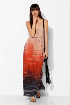 Moon And Sky Gradual Dye Maxi Dress - Urban Outfitters