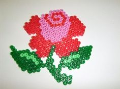 doing a cross stitch pattern in pearler beads