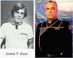 Jerry Doyle back in the day, and kinda cute.
