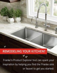 Franke Spark Sink : ... spark your inspiration by helping you find the Franke sink or faucet