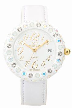 bonbon RA-W-MGD(3col) bonbon RA-W-MGD(3col) 29160 パリ職人手作りのファッション感覚ウォッチ bonbon watch(ボンボンウォッチ)が新登場!! rainbowシリーズ マットなホワイトのボディに クリスタルオーロラホワイトオパールの エレガントなストーンコンビネーションが目を惹く逸品 文字盤には立体数字を使用しております パリで職人が一つ一つ手作りで仕上げており 機械ではできない高級感のある仕上りに 周りのベゼル部分は硬質のアクリルから出来ているため 超軽量なのもボンボンウォッチならではです!! いろいろなシチュエーションでカラフルにご自分を演出して下さい ご自身用に贈り物用に アクセサリー感覚のファッションウォッチを身に付け 日々のスタイリングをお楽しみください 素材アクリル ムーブメントクォーツ (スイス社製) 防水性生活防水 保証書について 保証書は購入明細書納品書と合せて保管していただきますようお願いします 修理の際は保証書と購入明細書納品書を合わせてご提出ください