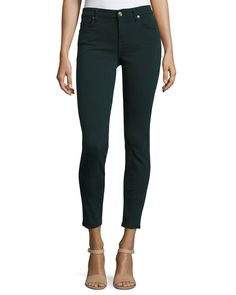 The Ankle Skinny Jeans, Dark Forest - 7 For All Mankind