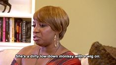 """Or of betraying her in a bad wig.   29 Times """"The Real Housewives Of Atlanta"""" Cast Served Up The Best Shade"""