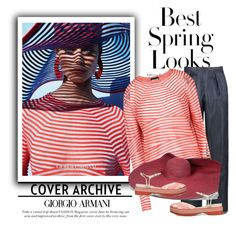"""Get the Look"" by fl4u ❤ liked on Polyvore featuring Giorgio Armani, H&M and theINSIDERblog"