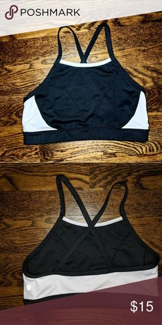 bf152d7fa6 Z by Zella Sports Bra Small Black and white racer back sports bra. Perfect  condition