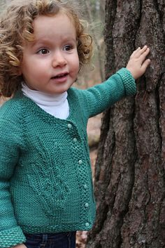 Ravelry: Klid, a Child's Cardigan pattern by Joan Dyer