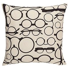 Antique Spectacles Pillow