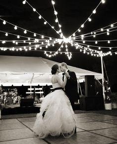 Backyard wedding dance floor ideas for 2019 Wedding Reception Lighting, Wedding Reception Photography, Wedding Reception Decorations, Wedding Bells, Reception Ideas, Aisle Decorations, Dance Floor Wedding, Dream Wedding, Trendy Wedding