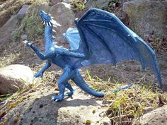 "Sapphira from ""Eragon"" (K.Paolini)  Blue Dragon"