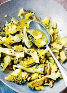 Jamie Oliver - Artichoke recipes