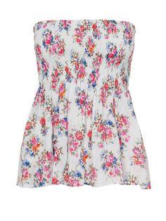 sewing pattern: shoulder free top