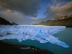 Moreno Glacier rises above Lake Argentino as a rugged wall three miles wide and almost 200 feet tall. One of 47 massive ice fields in Argentine Patagonia's Glaciers National Park, this grinding, groaning force of nature covers a hundred square miles.