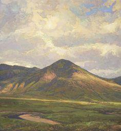 Landscape paintings of Thomas Paquette