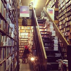 Westsider Books, 2246 Broadway, New York City. Used book and music store offering fiction, art books, children's literature and rock music albums.