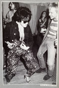 Siouxsie Sioux and Paul Cook, ca 1978-79