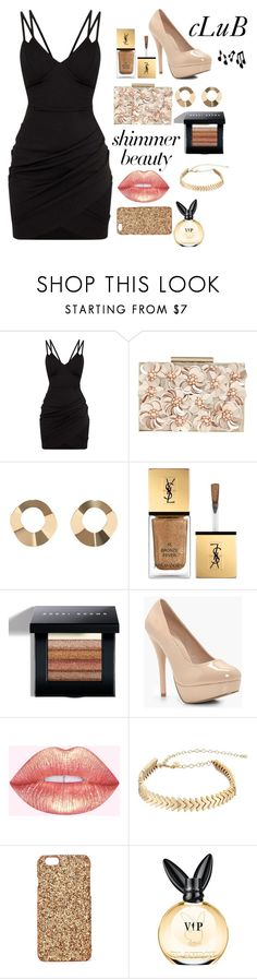 """""""Untitled #171"""" by ladybunny88 ❤ liked on Polyvore featuring Phase Eight, MANGO, Yves Saint Laurent, Bobbi Brown Cosmetics, Boohoo, Rebecca Minkoff and Nasty Gal"""