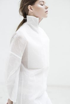 White Simplicity - contemporary fashion design // Shaun Harris