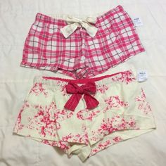 ⚡️TODAY ONLY⚡️NWT 2 Charlotte Russe pajama bottoms 2 NWT Charlotte Russe pajama bottoms medium. Price is firm. Charlotte Russe Intimates & Sleepwear Pajamas