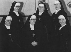 Sisters of Charity of Ronse in the 1950s