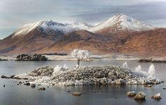 Winter In Rannoch Moor, Scotland Photography By: David Breen
