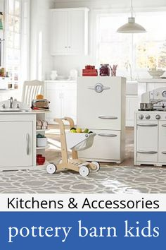 Vanity Tables, Play Kitchens & Play Kitchen Sets | Pottery Barn ...