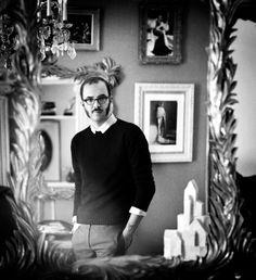 Schiaparelli: A Shocking Return - Marco Zanini in the Schiaparelli headquarters in Paris.