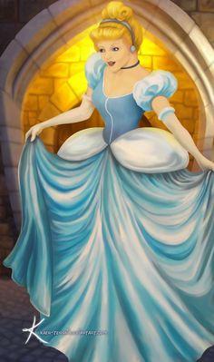 Cinderella by Kaeh-tenshi.deviantart.com