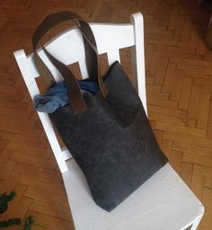 Leather shopper by IHAY facebook.com/ihaybyannamihalyffy