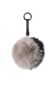 JESSIMARA FOX TWO TONE GREY/NAVY POM POM
