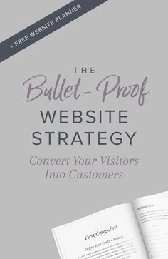 Is your website converting your visitors into customers and sales or is it just sitting on the sidelines looking pretty? Find out what it takes to create a bullet-proof website strategy that puts your investment to work.