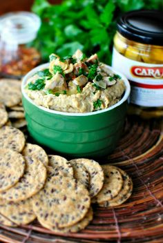 Grilled Artichoke Hummus with Cara Mia Grilled Artichokes