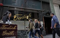 Wednesday's column about Steve Buich, one of the former owners of the Tadich Grill, refusing to speak to his daughter, Terri Upshaw, after she formed a relationship with — and later married — Raiders star Gene Upshaw kicked up a firestorm in the city.  Tadich Grill was torched on Yelp, which got so many comments it posted a note saying, This business recently made waves in the news, which often means that people come to this page to post their reaction.  The best place to share your…
