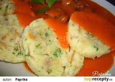 Knedlíky houskové hrnečkové, vařené v mikrovlnce Nadja