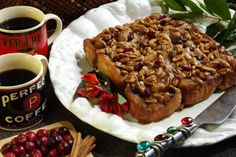 Sweet Potato Praline Coffee Cake