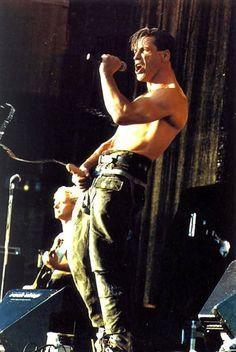 Till Lindemann - Rammstein Herzeleid Tour 1995-1996 #TillLindemann #Rammstein #Herzeleid