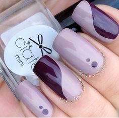 ✨Posh Purple Mani✨ Nail Art ✨ #nails #nailart #nailpolish