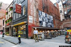 10 Beautiful Bookshops That Will Stop You In Your Tracks -- BRATTLE BOOK SHOP