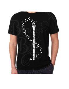 Clarinet Music Notes T-Shirt