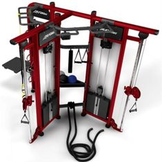 The groundbreaking system creates a fun, inviting and meaningful workout experience for all exercisers. The T offers two unique training spaces tha Commercial Fitness Equipment, Home Gym Equipment, No Equipment Workout, Home Gym Basement, At Home Gym, Gym Gear, Workout Gear, Workout Plans, Backyard Gym