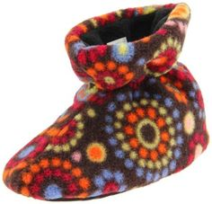 ACORN Easy Slipper (Infant/Toddler),Chocolate Dots,X-Large (18-24 Months M US Toddler) ACORN. $18.00