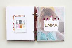 birthday mini book / kelsey especially