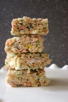 Bakergirl: Peeps Rice Krispie Treats {...or how I accidentally browned butter.}