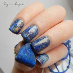 Lapislazuli Nails with Dance Legend 1044