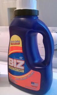 Win a 1 Year Supply of Biz Stain Fighter!!