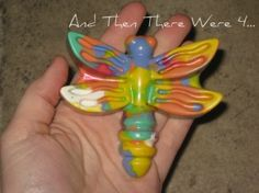 Molded crayons for Easter! via @Jessica Allen
